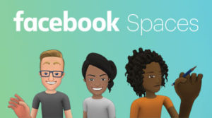 Socialt VR med Facebook Spaces