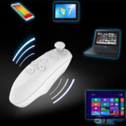 Mini Bluetooth controller/gamepad til iOS & Android & PC VR spil - Hvid
